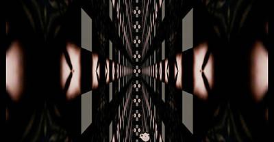 Rhythm And Blues Digital Art - Towards The Void. by Sir Josef - Social Critic -  Maha Art