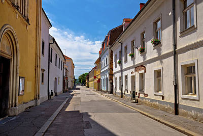 Photograph - Town Of Karlovac Street View by Brch Photography