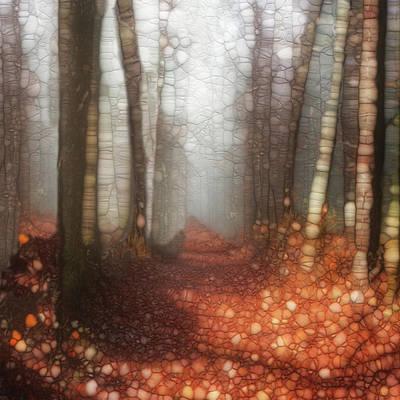 Globe Painting - Trail Series 5 by Jack Zulli
