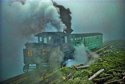 Trains Art Print by Richard Wagner