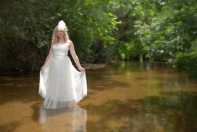Photograph - Trash The Dress by John King
