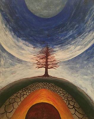 Mixed Media - Tree by Steve  Hester