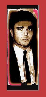 Triple Murderer Charles Schmid Not In Makeup Tucson Arizona Collage Circa 1966-2013 Art Print