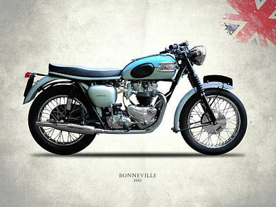 Photograph - Triumph Bonneville by Mark Rogan