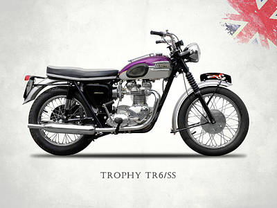 Photograph - Triumph Trophy by Mark Rogan