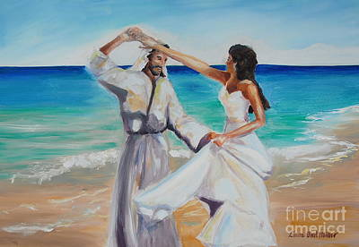 Devotional Painting - True Love by Laura Bird Miller