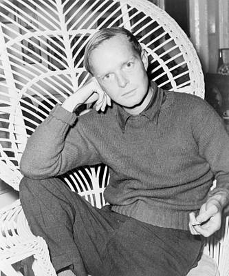 1950s Fashion Photograph - Truman Capote 1924-1984, Southern by Everett
