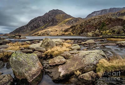 Photograph - Tryfan Mountain by Adrian Evans