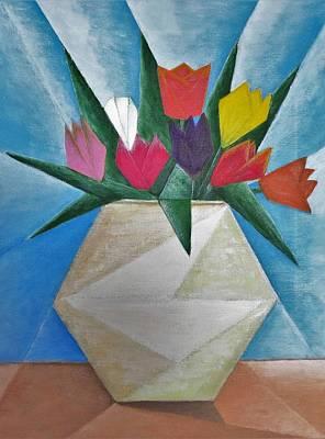 Painting - Tulips by Tamara Savchenko