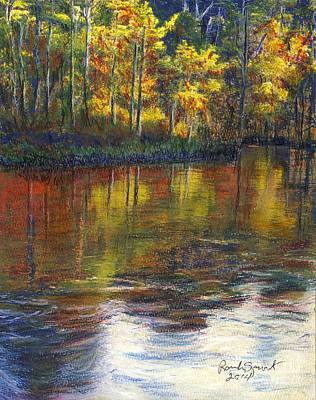 Painting - Turkey Creek Nature Trail by Randy Sprout