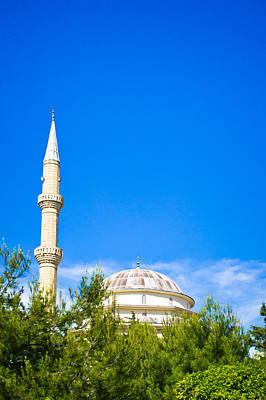 Buidling Photograph - Turkish Mosque by Tom Gowanlock