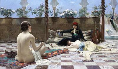 Painting - Turkish Women by Ferdinand Max Bredt