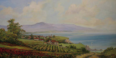 Painting - Tuscan Landscape by Tigran Ghulyan