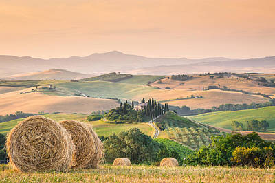 Photograph - Tuscany Morning by Stefano Termanini