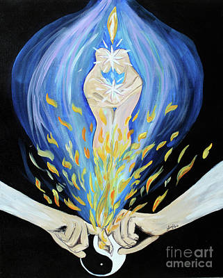 Twin Flame Art Print