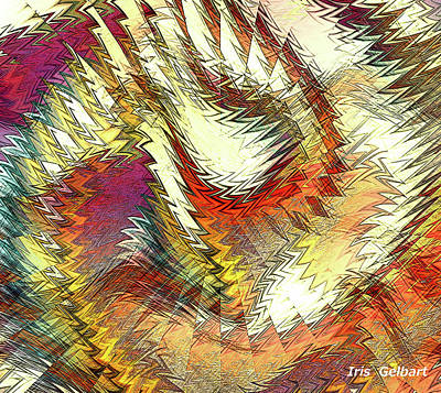 Digital Art - Twist And Turn by Iris Gelbart