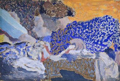 Painting - Two Seamstresses In The Workroom by Edouard Vuillard