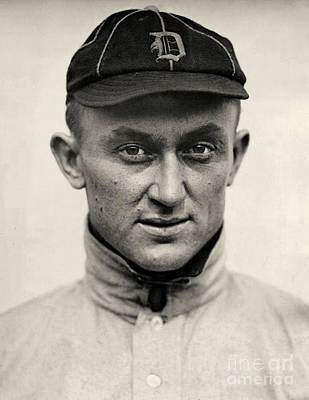 Ty Cobb Art Print by American School