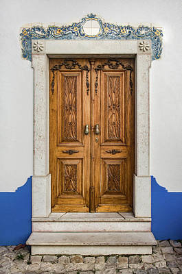 Photograph - Typical Ericeira Door by Carlos Caetano