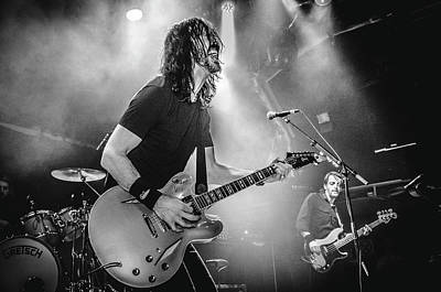 Photograph - Uk Foo Fighters Live @ O2 Academy Islington by Edyta K Photography