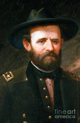Photograph - Ulysses S. Grant, 18th American by Photo Researchers