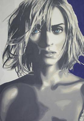 Painting - UMA by Luis Ludzska