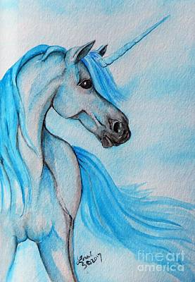Painting - Unicorn by Lorah Tout