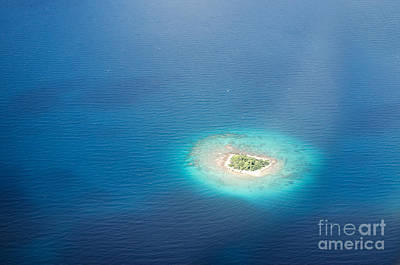 Photograph - Uninhabited Island In The Pacific by IPics Photography