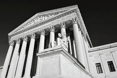 Photograph - United States Supreme Court by Brandon Bourdages