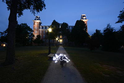 University Of Arkansas Photograph - University Of Arkansas by Chris  Look