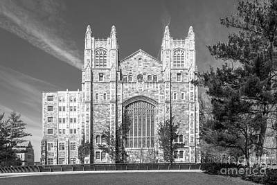 University Of Michigan Law Library Art Print by University Icons