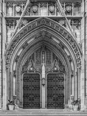 Big East Conference Photograph - University Of Pittsburgh Heinz Memorial Chapel by University Icons