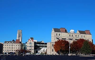 Photograph - University Of Toledo Campus Vii by Michiale Schneider