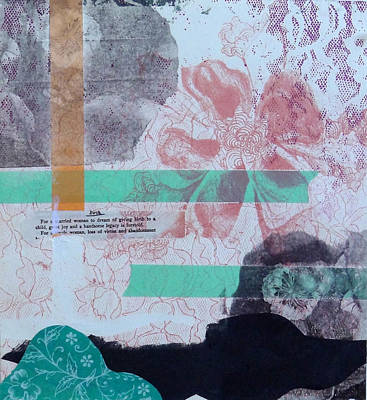Collagraph Mixed Media - Untitled by Amanda Durig