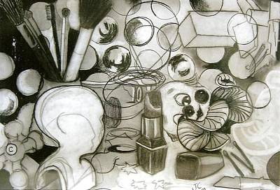 Drawing - Untitled by Joanne Claxton
