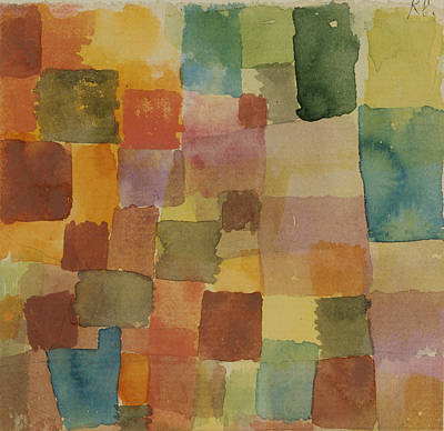 Drawing - Untitled by Paul Klee