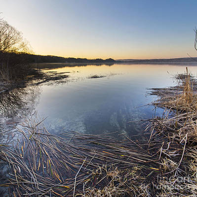 Herring Photograph - Upper Herring Lake Spring Morning by Twenty Two North Photography