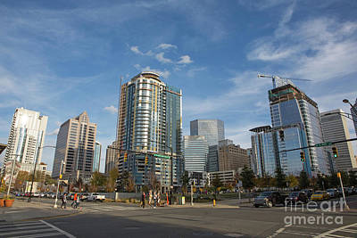Photograph - Uptown Charlotte Skyline by Kevin McCarthy