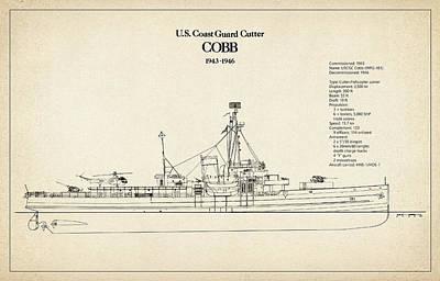 U.s. Coast Guard Cutter Cobb Art Print by Jose Elias - Sofia Pereira