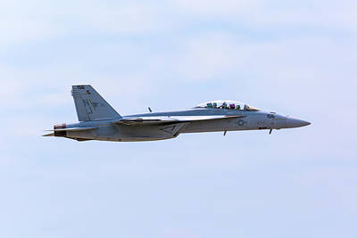 Photograph - Us Navy F-18 Super Hornet by Jack R Perry