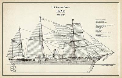 U.s. Revenue Cutter Bear Art Print