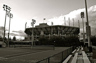 Usta National Tennis Center Art Print