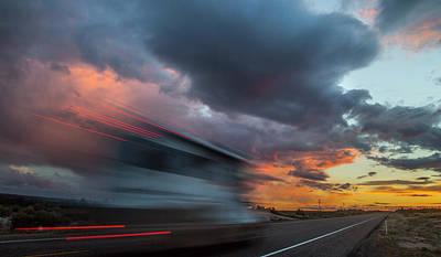 Impressionist Landscapes - Utah Sunset by Michael Just