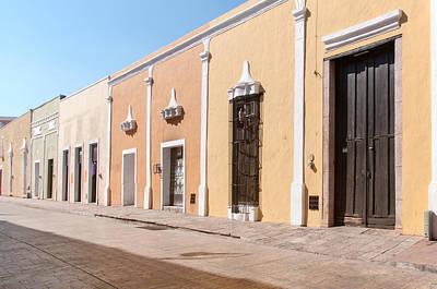Digital Art - Valladolid City Scenes by Carol Ailles