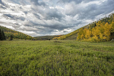 Photograph - Valley Of Autumn II by Jon Glaser