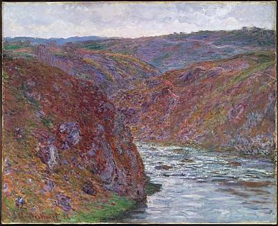 Valley Of The Creuse Art Print