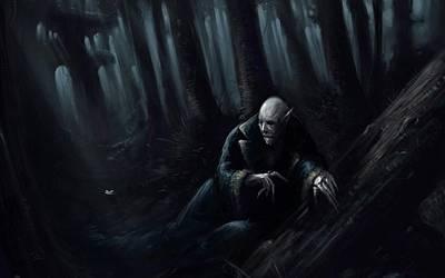 Nosferatu Digital Art - Vampire by Alice Kent