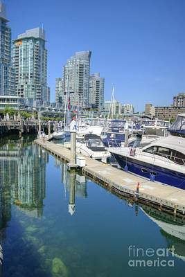 Photograph - Vancouver Coal Harbour by David Birchall