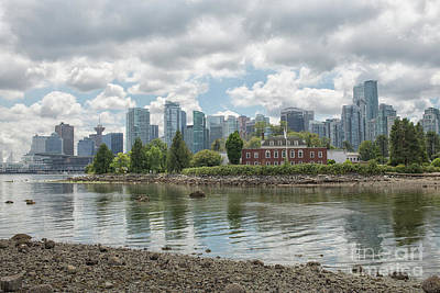 Photograph - Vancouver Skyline by Patricia Hofmeester