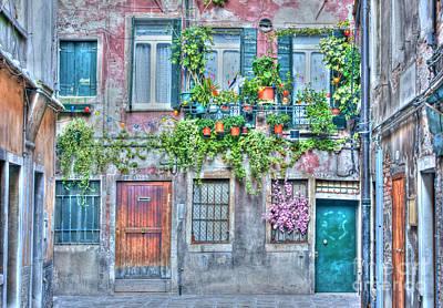 Photograph - Venice Backstreet by David Birchall